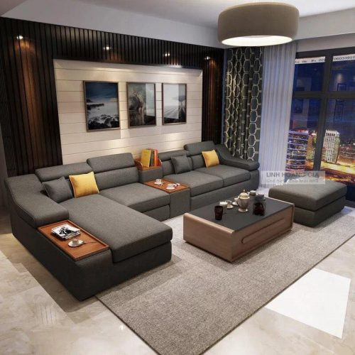 Ghế sofa vải cao cấp LF-07