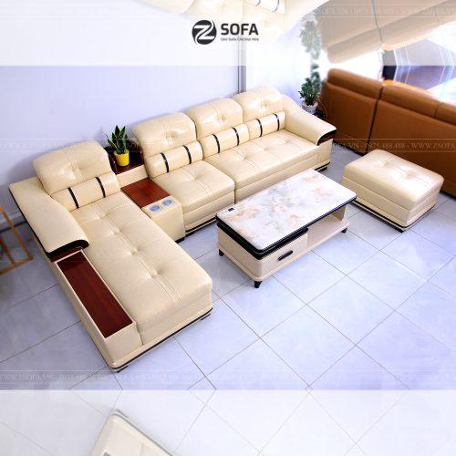 Ghế sofa da cao cấp Gl1909