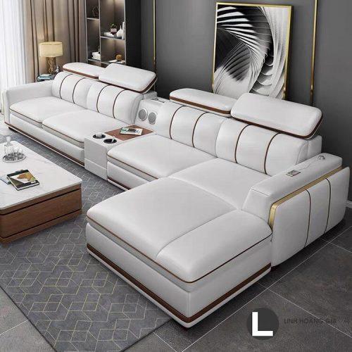 Ghế sofa da cao cấp L64