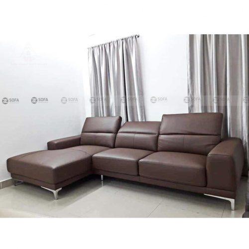 Sofa da bò nhập khẩu Zfurni M68